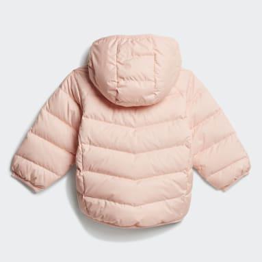 Kids Originals Pink Adicolor Down Jacket