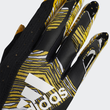 Football Black Adizero 9.0 Zubaz Receiver Gloves