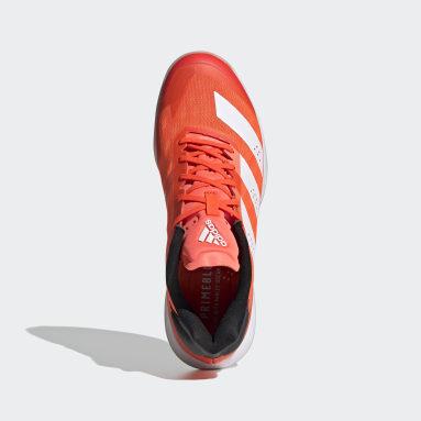 Table Tennis Orange Adizero Fastcourt 1.5 Handball Shoes