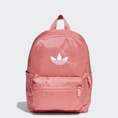 Kids Originals Pink Adicolor Floating Trefoil Mini Backpack