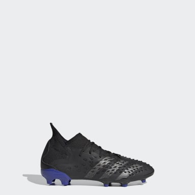 Kids Football Black Predator Freak.1 Firm Ground Boots