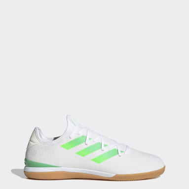 Football White Gamemode Knit Indoor Boots