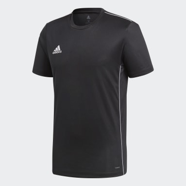 Men Gym & Training Black Core 18 Training Jersey