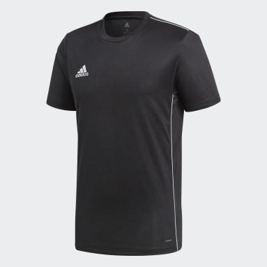Heren Fitness En Training Zwart Core 18 Trainingsshirt