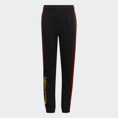 Pantalón adidas x LEGO® Basketball Negro Niño Baloncesto