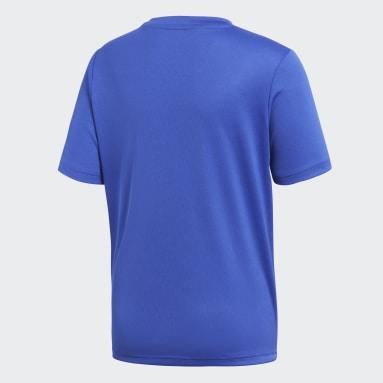 Børn Fitness Og Træning Blå Core 18 træningstrøje