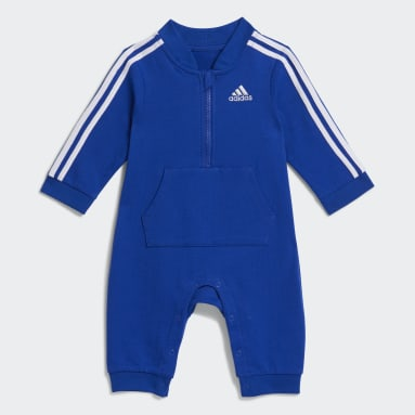 Infant & Toddler Training Blue Track Suit Coveralls