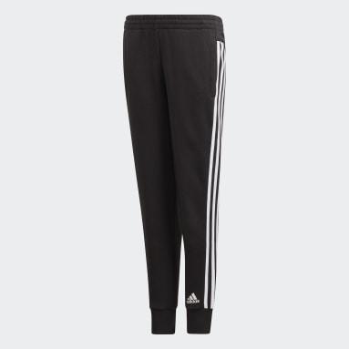 Meisjes Fitness En Training Zwart Must Haves 3-Stripes Broek