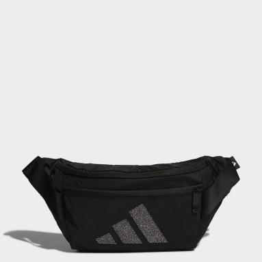 Training Black Swarovski Waist Bag