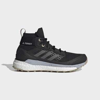 Women's TERREX Black Terrex Free Hiker Primeblue Hiking Shoes