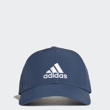 Lightweight Embroidered Baseball Caps Blå