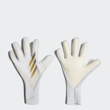 Fodbold Hvid X 20 Pro målmandshandsker