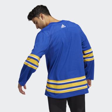 синий Оригинальный хоккейный свитер Sabres Home