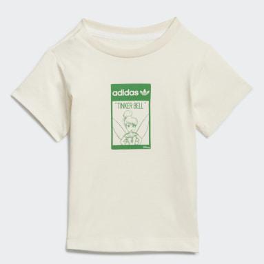 Camiseta Algodão Orgânico Disney Tinkerbell Branco Kids Originals