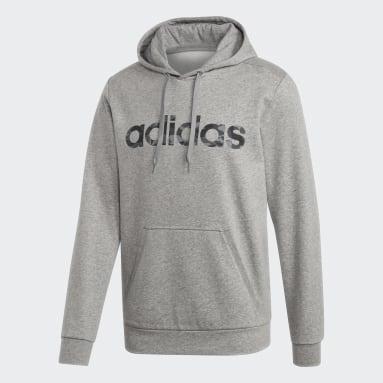 Sweatshirt Linear Camo Cinzento Homem Sportswear