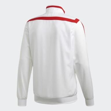 Arsenal Presentasjonsjakke Hvit