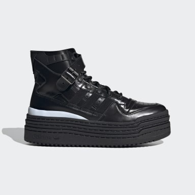 Originals Black AFROPUNK Triple Platforum Hi Shoes