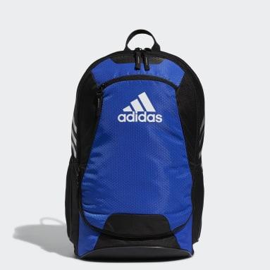 Soccer Blue Stadium Backpack