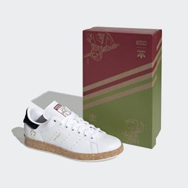 Women Originals White Marvel Stan Smith Shoes