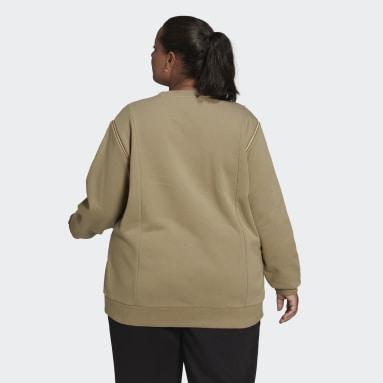 Sweat-shirt Crew Vert Femmes Originals