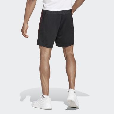 Men Training Black Primeblue Designed To Move Sport 3-Stripes Shorts