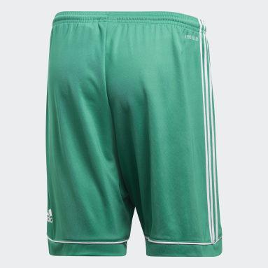 Men Gym & Training Green Squadra 17 Shorts