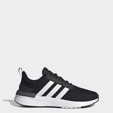 Men's Essentials Black Racer TR21 Wide Shoes