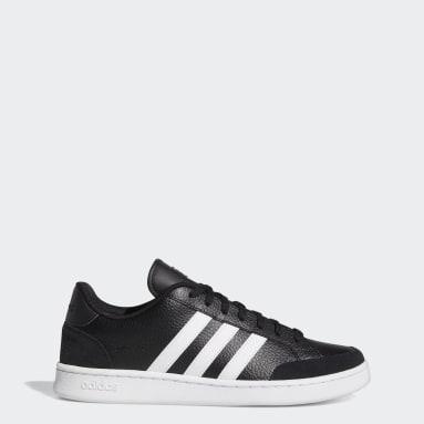 Sport Inspired Black Grand Court SE Shoes