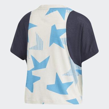 Camiseta cuello redondo ID Blanco Mujer Sportswear