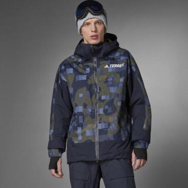 Herr TERREX Blå Resort Two-Layer Insulated Jacket