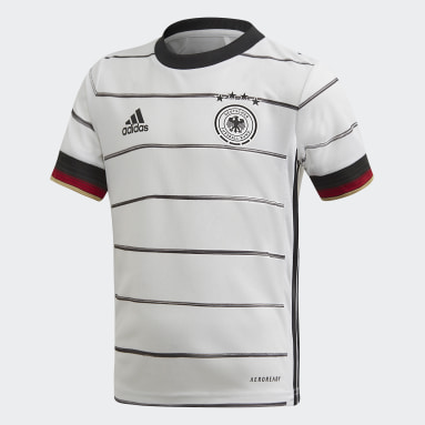 Mini-kit domicile Allemagne Blanc Enfants Football