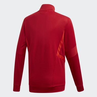 Tiro 19 Treningsjakke Rød