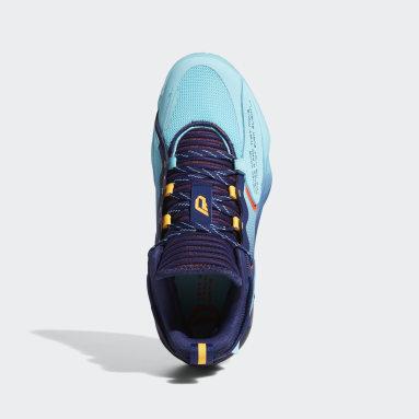 Basketball Dame 7 EXTPLY Basketballschuh Blau