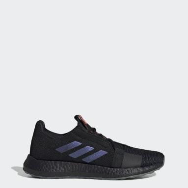 Men Running Black Senseboost GO Shoes