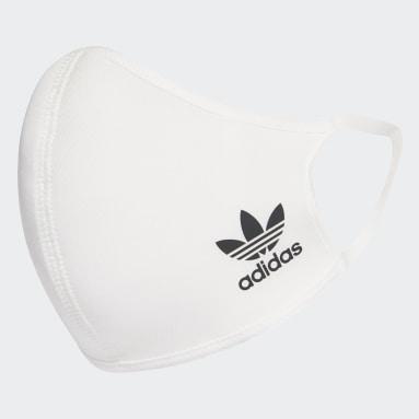 Sport Inspired White FACE CVR SMALL