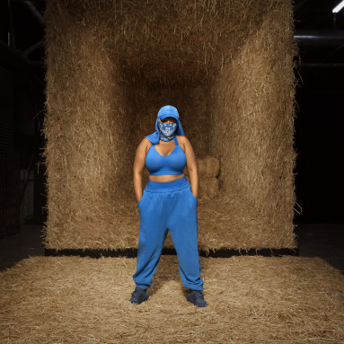 Women Originals Blue Medium-Support Cutout Bra (Plus Size)