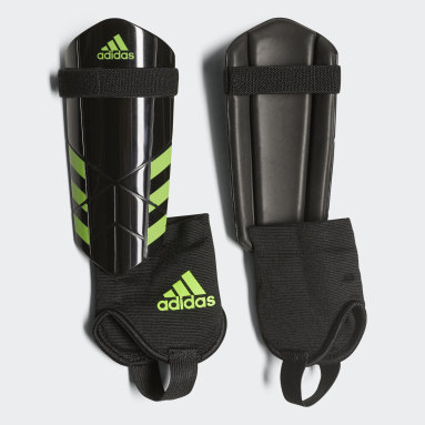 Youth Soccer Black Ghost Shin Guards