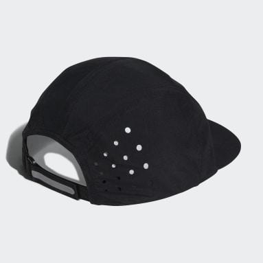Running Black Running Cap