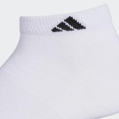 Men's Training White Superlite Low Socks 6 Pairs