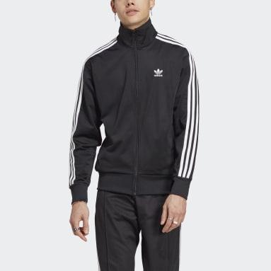 Men Originals Black Adicolor Classics Firebird Track Jacket