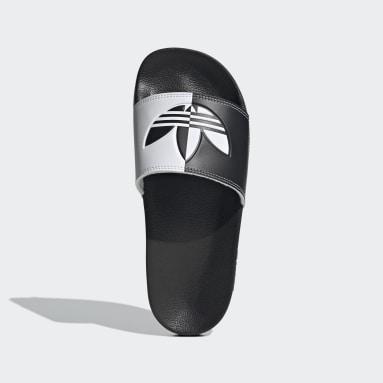 Ženy Originals bílá Pantofle adilette Lite