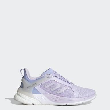 Women's Running Purple Response Super 2.0 Shoes