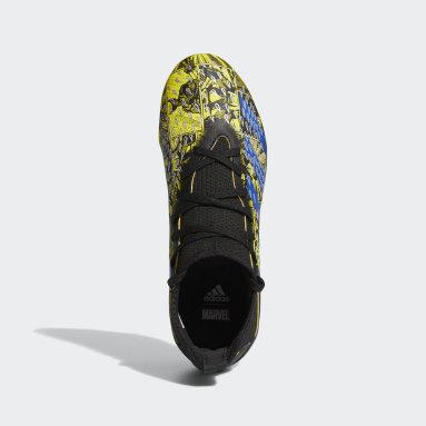 Chaussure Marvel Predator Freak.3 Terrain souple jaune Enfants Soccer