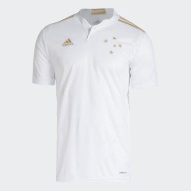 Camisa 2 Cruzeiro 21/22 Branco Homem Futebol
