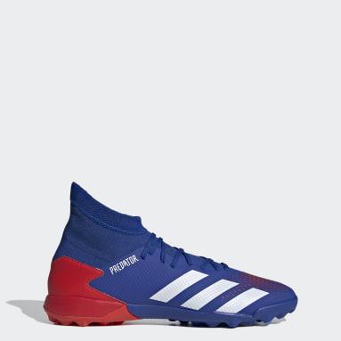 Men Soccer Blue Predator 20.3 Turf Shoes