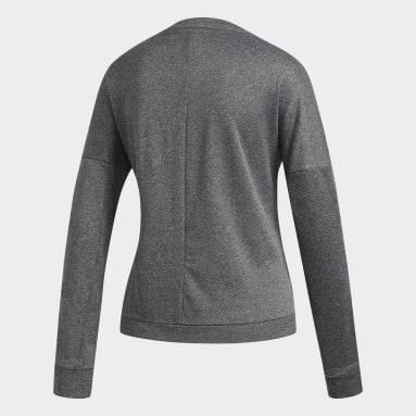T-shirt Response Long Sleeve Gris Femmes Hockey Sur Gazon