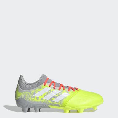 Men Football Grey Copa Sense.3 Firm Ground Boots