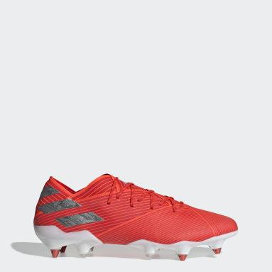 Calzado de fútbol Nemeziz 19.1 Soft Ground Rojo Hombre Fútbol