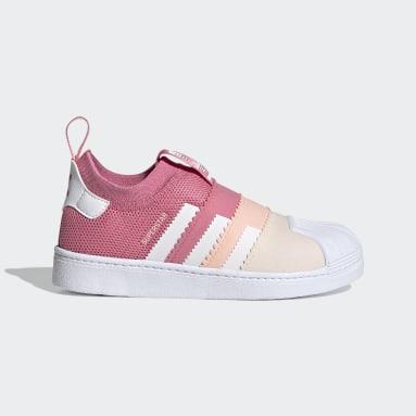 Kids Originals Pink Superstar 360 2.0 Shoes