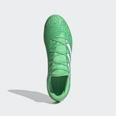 Bota de fútbol Gamemode Knit césped natural seco Verde Hombre Fútbol